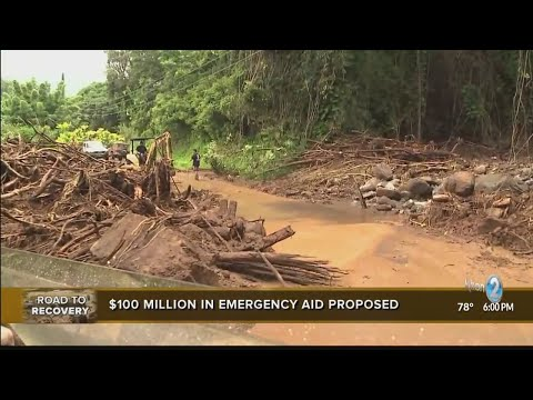 Stranded Kauai residents worry about long-term needs should roads remain closed indefinitely