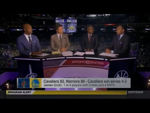 Sportscenter Post Game with Stephen A  Smith   Cavaliers vs Warriors   Game 7 2016 NBA Finals