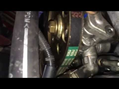 Power Steering Pressure Hose Remove and install