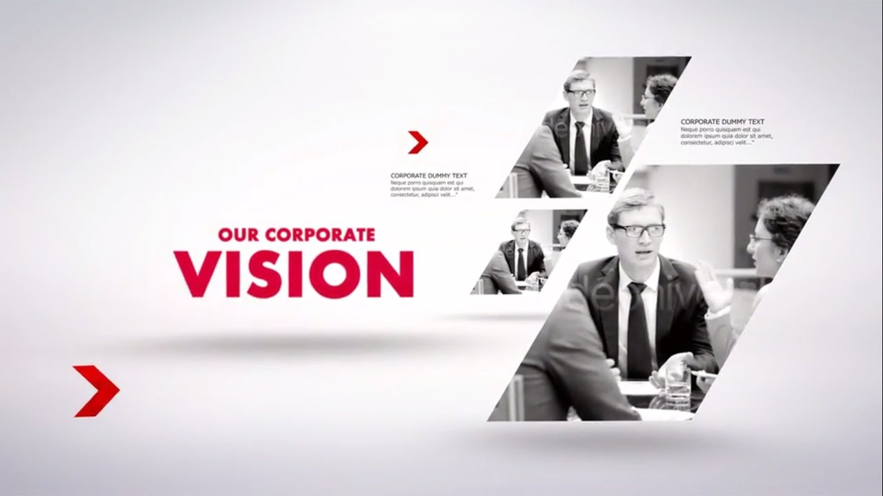 corporate presentation template - after effects template - youtube, Powerpoint templates