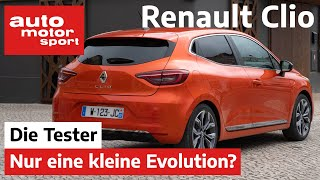 Renault Clio TCe 100: Reicht die kleine Evolution wirklich? - Test /Review   auto motor und sport