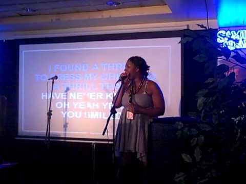 Your karaoke hostess Toya, sings Etta James!!