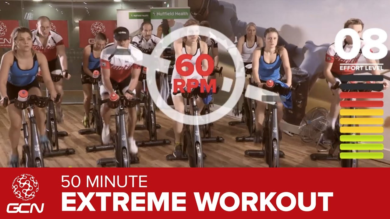Resultado de imagem para Extreme Fat Burning Workout - 50 Minute Indoor Cycling Class