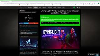 Dying Light weapons and free dockets video, Dying Light weapons and