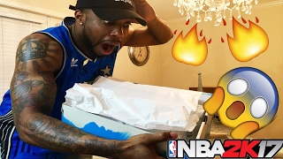 YOU WONT BELIEVE THE LIMITED RARE SHOE 2k SENT ME!!! HEAT SNEAKER!