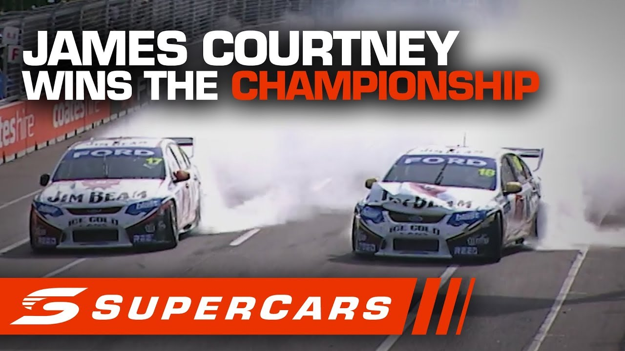 FLASHBACK: James Courtney wins the 2010 Supercars Championship   Supercars 2020