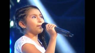 "Keisy canta ""Titanium""   La Voz Kids Perú   Audiciones a ciegas   Temporada 3"