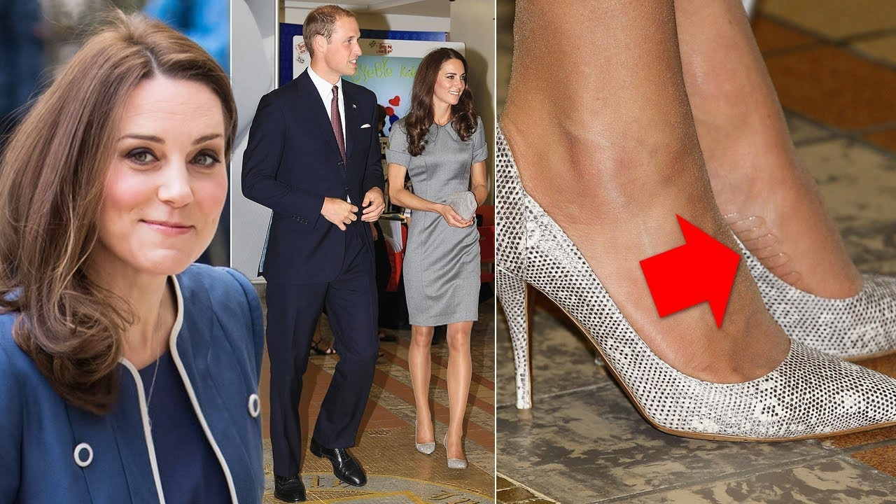f367f1c10 REVEALED  The Duchess of Cambridge uses this genius tights tip to keep her  high heels in place