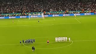 UEFA Euro 2020 Semi Finale -Italy vs Spain -  Penalty Shootout Wembley Stadium 06/07/2021