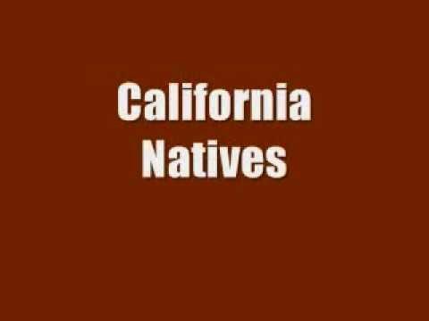Tracy Lee Nelson   California Natives, Karaoke with Lyrics