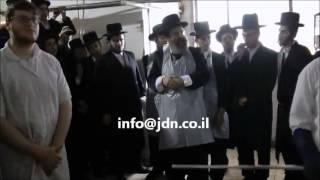 Sadigerer Rebbe Baking Matzah - 5773