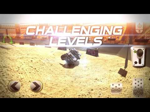 Monster Truck Stunt Racing Trailer