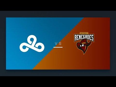CS:GO - Cloud9 vs. Renegades [Mirage] Map 1 - NA Day 20 - ESL Pro League Season 6