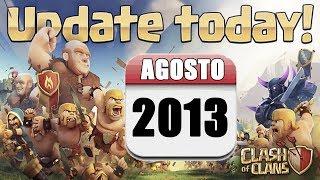 Novedades de la actualización de agosto 2013 - Descubriendo Clash of Clans #88 [Español]