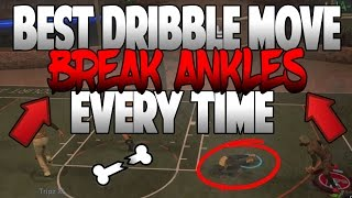 NBA 2K17 BEST DRIBBLE MOVE TO BREAK ANKLES EVERY TIME! ANKLE BREAKER CHEESE COMBO DRIBBLE TUTORIAL!