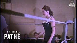 Unidentified Out Takes / Cuts - Cp Uni 2 - Female And Male Wrestlers (1962)