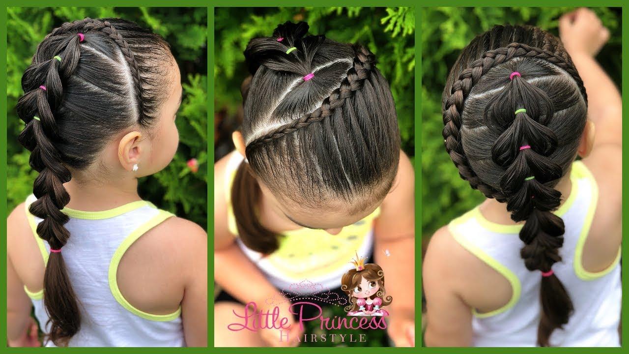 Peinados para Niñas con Pelo Medio