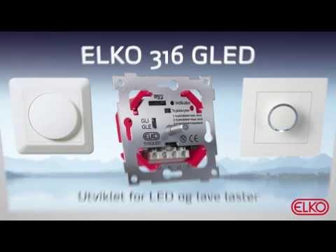 ELKO Dimmer 316 GLED