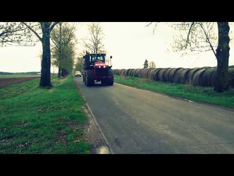 Трактор VERSATILE 400 на польских полях./Tractor VERSATILE 400 in rural fields.