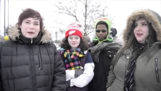 Michigan residents explain why they plan to vote for Bernie Sanders