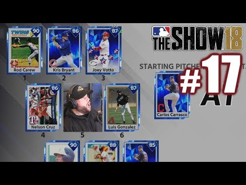 BEATING TWO GOD SQUADS BACK TO BACK!   MLB The Show 18   Diamond Dynasty #17