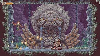 Owlboy - Boss della caverna di Vellie (Boss fight #01 )