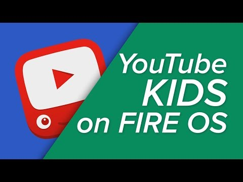 Using YouTube Kids on Your Amazon Fire Tablet!