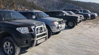 ВВД. Пробиваем новый маршрут. Lexus LX470, Pathfinder, Terrano, Pajero Sport, Pajero 3