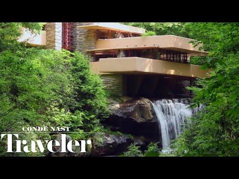Inside Frank Lloyd Wright's Iconic Fallingwater House | Condé Nast Traveler