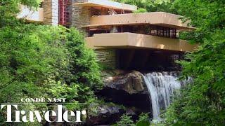 Inside Frank Lloyd Wrights Iconic Fallingwater House  Cond Nast Traveler