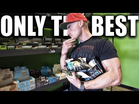 The Best Protein Bars & Low Calorie Snacks | Back On The Diet | Physique Update