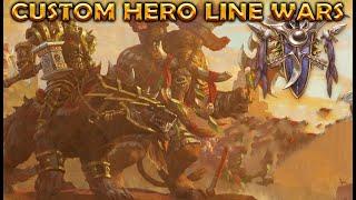 Warcraft 3 | Custom Hero Line Wars 1.61d | TANK BUILD