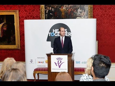 Heads Together 'thank you' event at St James's Palace