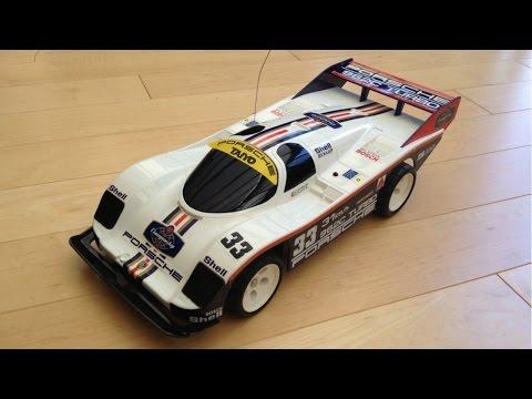 Taiyo RC Porsche 962C 9.6v Twin Turbo Vintage RC Tyco RC Nostalgia RC