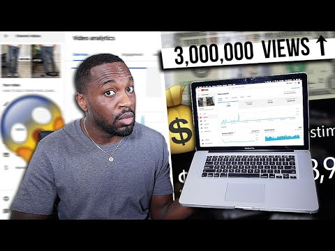 How Much YouTube Paid Me for a 3 MILLION Viewed Video   I AM RIO P.