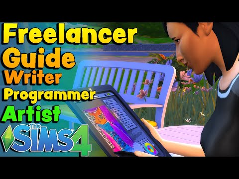 The Sims 4 Freelancer Career - Thriving In The Gig Economy | Carl's Guide