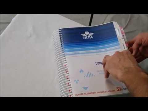 Description of the IATA DGR 59th Edition