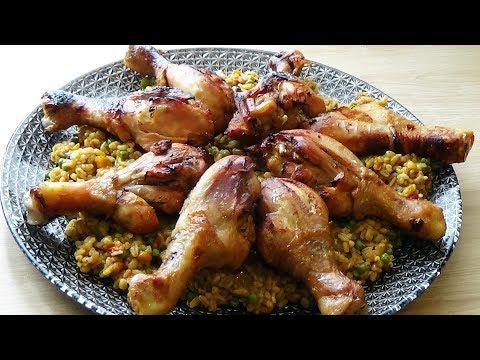 recette-de-poulet-rôti-à-la-sauce-barbecue-un-repas-complet