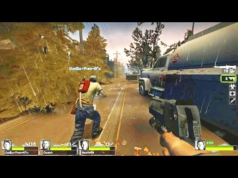 Left 4 Dead 2 - The Cure Custom Campaign Multiplayer Gameplay Walkthrough