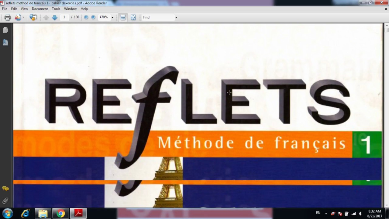 Reflets 1 Cahier Dexercices Pdf