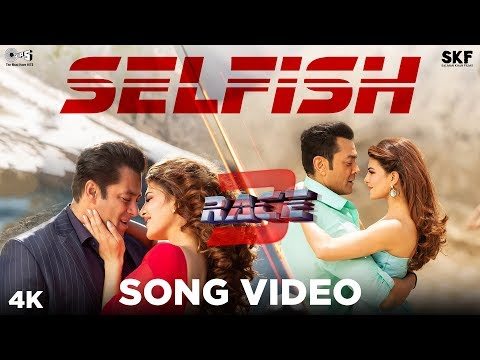Selfish Song Video - Race 3 | Salman Khan, Bobby, Jacqueline | Atif Aslam, lulia Vantur | Vishal