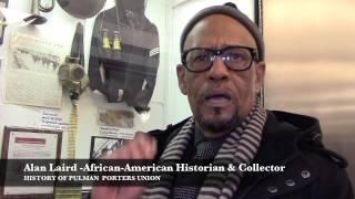 Alan Laird on History of Pullman Porters Union @ Gateway Plaza, Newark, NJ.