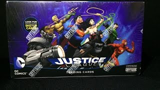 Magios Initiative-Unboxing-DC Comics Justice League Trading Cards By Cryptozoic. #Ktulu