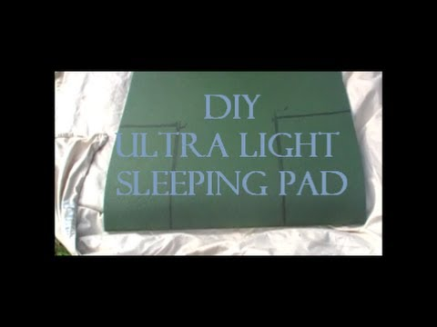 diy hammock sleep pad ultra light   youtube  rh   youtube