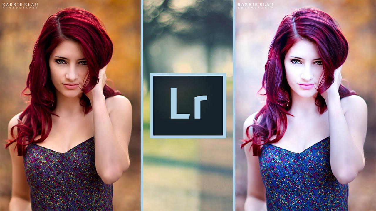 Lightroom Portrait Tutorial Cool Effect Change Hair Color - Hair style change photo effect