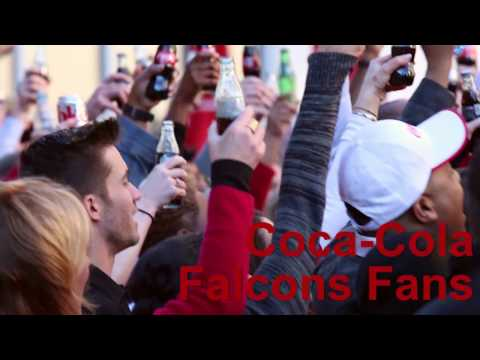 Coca-Cola Employees Wish Atlanta Falcons Good Luck at the Big Game