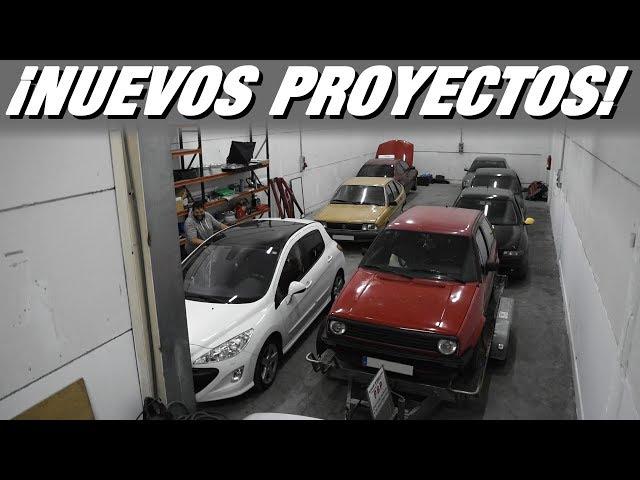 """Compro más """"project cars"""", arreglamos el E36 de 300 euros y llenamos la nave de coches - RPMlog #130"""