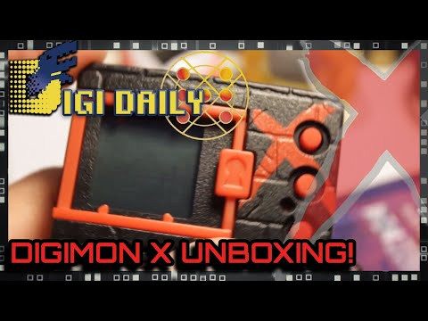 Digital Monster X UNBOXING and First Look!(DigiDaily X)
