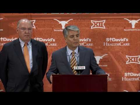 Tom Herman introductory press conference [Nov. 27, 2016]