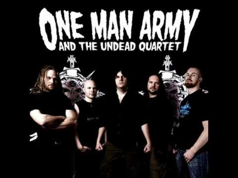 One Man Army And The Undead Quartet - He's Back (The Man Behind the Mask)